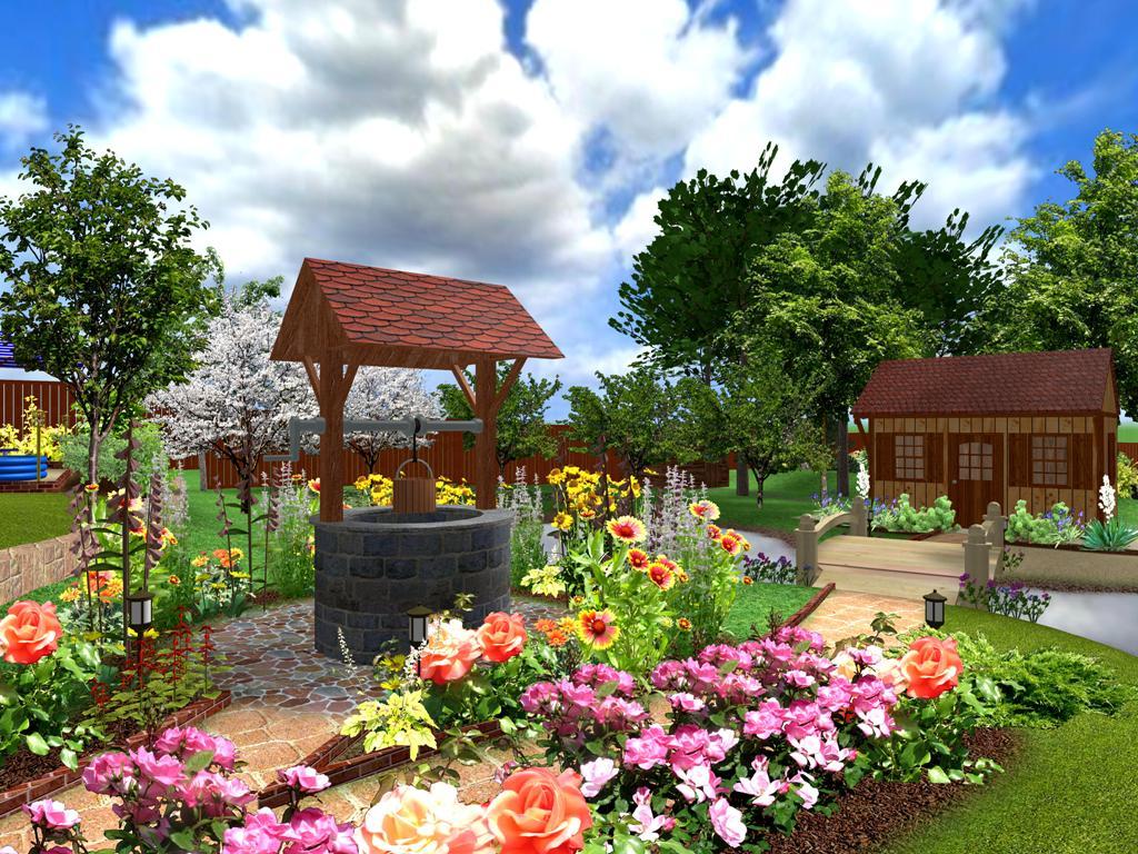 Фото дизайн садовых участков 6 соток